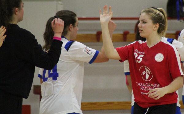 Under 20 femminile, le finali nazionali partono bene: Casalgrande Padana vittoriosa sulla coriacea Tushe Prato
