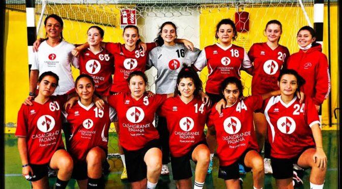 Giovanili, doppia sconfitta in ambito maschile. Note più liete per le ragazze della Casalgrande Padana U15, che a Parma hanno colto la prima vittoria stagionale