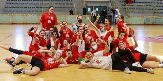 Giovanili, grande giornata per le Under 15 della Casalgrande Padana: successo di spessore contro l'Ariosto Ferrara