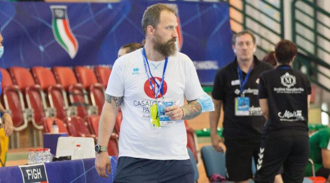 A2 maschile, Matteo Corradini è il nuovo trainer biancorosso. Il marchio Modula resterà sulle maglie casalgrandesi: squadra riconfermata quasi in blocco