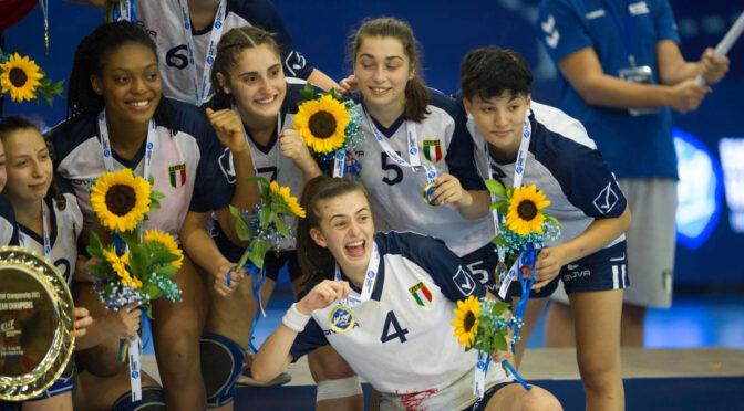 A1 femminile, una campionessa europea nelle file della Casalgrande Padana: Asia Kristal Mangone trionfa con l'Italia Under 19